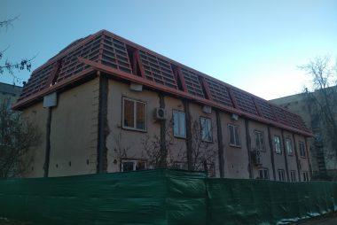 Реконструкция фальцевой кровли в Минске