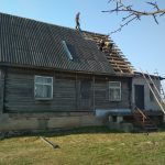 Демонтаж старой кровли из шифера в Жуковке