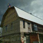 Монтаж новой кровли из металлочерепицы в Жуковке