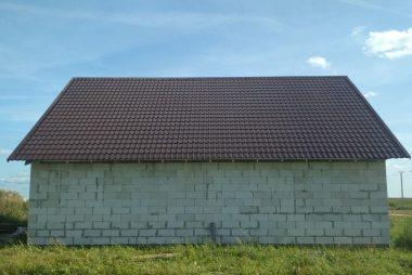 Крыша из металлочерепицы в Озерце