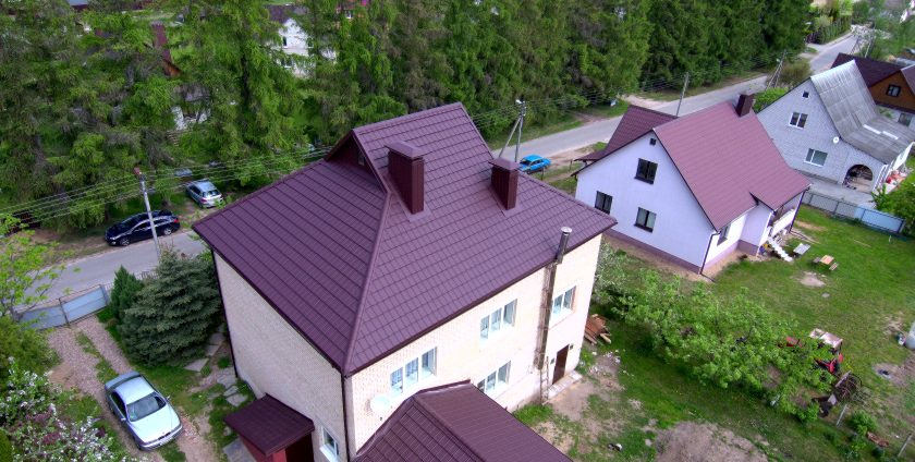 Реконструкция кровли - Самохваловичи, ул.Вишневая, фото 10