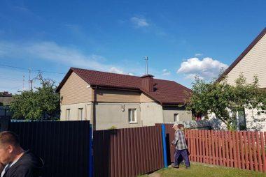 Реконструкция кровли в Столбцах - фото 1