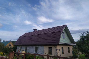 Монтаж металлочерепицы в деревне Жуковка фото 2